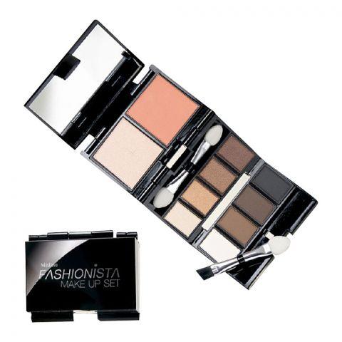 Mistine Fashionista Makeup Set, 02, Brown