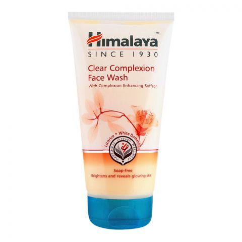 Himalaya Clear Complexion Face Wash, Soap Free, 150ml
