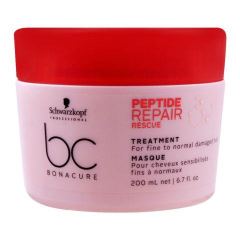 Schwarzkopf BC Bonacure Peptide Repair Rescue Treatment, 200ml
