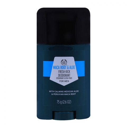The Body Shop Maca Root & Aloe Fresh Kick Deodorant For Men, 75g