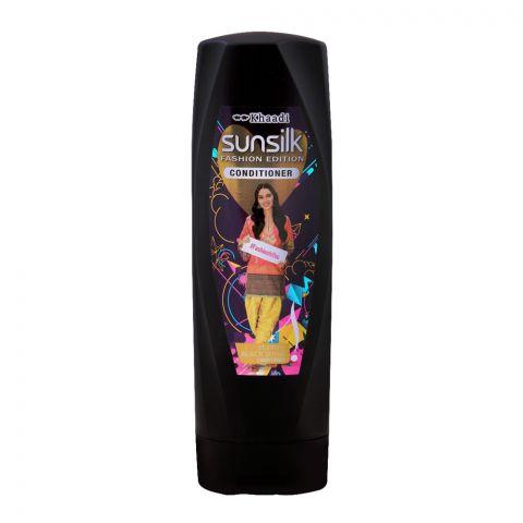 Sunsilk Fashion Edition Black Shine Conditioner, 180ml