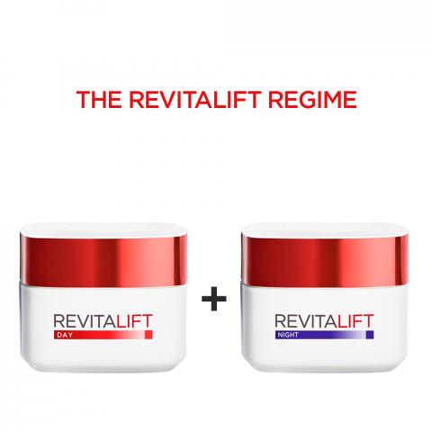 L'Oreal Paris Revitalift Moisturizing Day Cream 50ml + Night Cream 50ml
