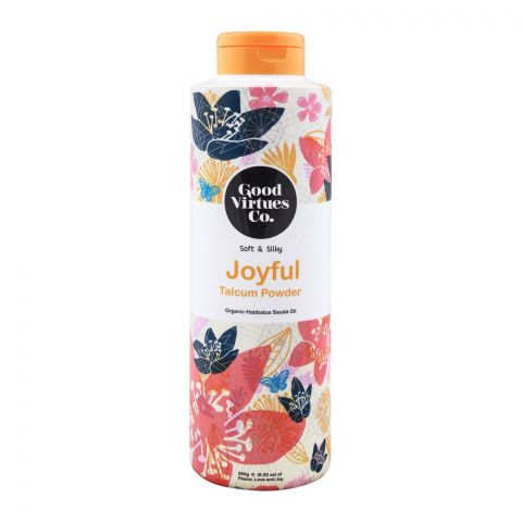 Good Virtues Co Soft & Silky Joyful Talcum Powder, 250g