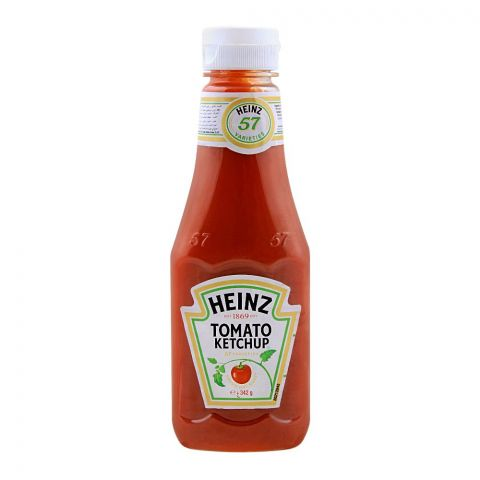 Heinz Tomato Ketchup Pet, 342g