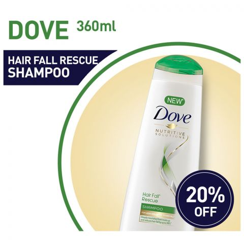 Dove Hair Fall Solution 360ml 20% OFF