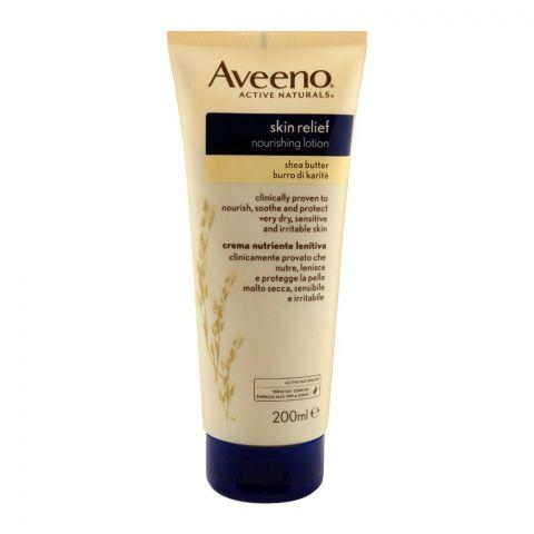 Aveeno Skin Relief Nourishing Shea Butter Lotion, 200ml