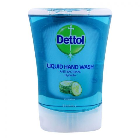 Dettol Antibacterial Hydrate Liquid Hand Wash, 250ml