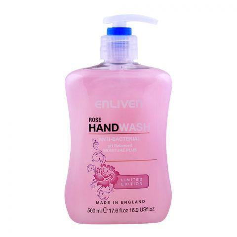 Enliven Rose Antibacterial Hand Wash 500ml