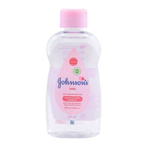 Johnson's Baby Oil Pure & Gentle Daily Care, 200ml