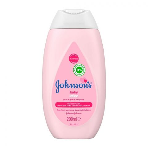 Johnson's Baby Lotion Pure & Gentle Daily Care, 200ml