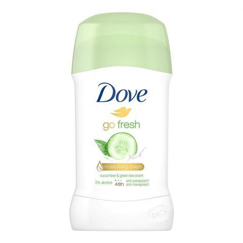 Dove Gofresh Cucumber & Green Tea A/P Deodorant Stick, For Women, 40ml