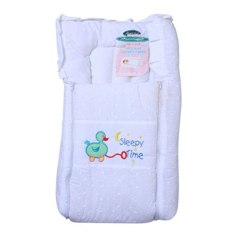 Angel's Kiss Baby Carry Bag, Chicken, White