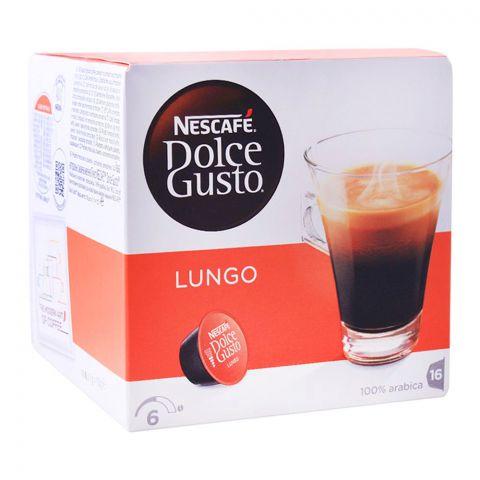 Nescafe Dolce Gusto Lungo Capsules, 16 Single Serve Pods