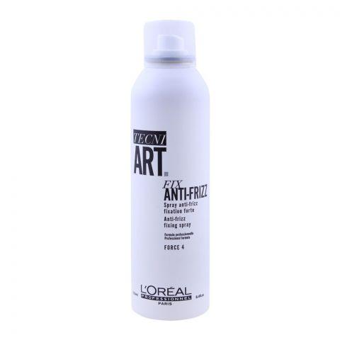 L'Oreal Professionnel Tecni Art Fix Anti-Frizz Force Fixing Spray, 250ml
