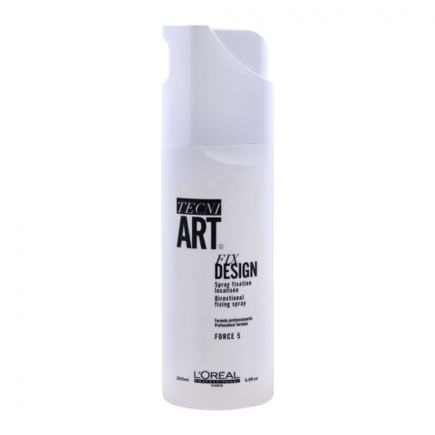 L'Oreal Professionnel Tecni Art Fix Design Directional Fixing Spray, Force 5, 200ml