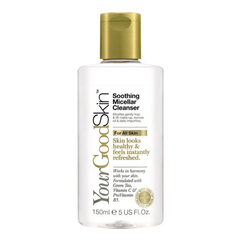 Your Good Skin Soothing Micellar Cleanser, For All Skins, 150ml