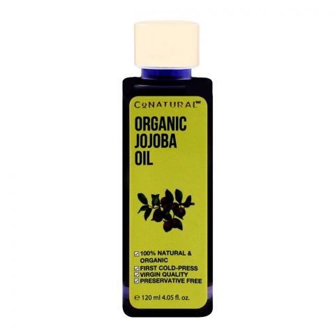 CoNatural Organic Jojoba Oil, 120ml