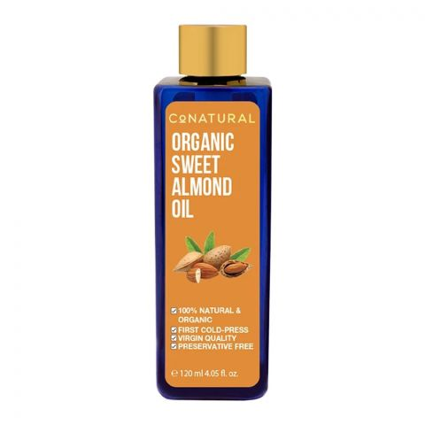 CoNatural Organic Sweet Almond Oil, 120ml