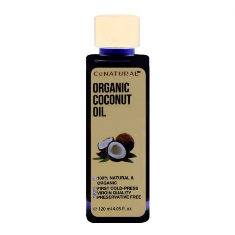 CoNatural Organic Coconut Oil, 120ml
