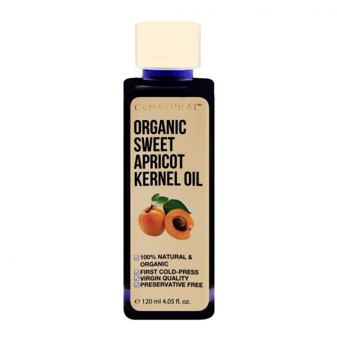 CoNatural Organic Sweet Apricot Kernel Oil, 120ml