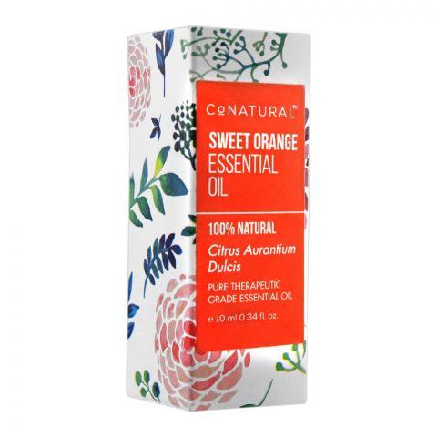 CoNatural Sweet Orange Essential Oil, Therapeutic Grade Essential Oil, 10ml