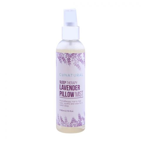 CoNatural Sleep Therapy Lavender Pillow Mist, 80ml