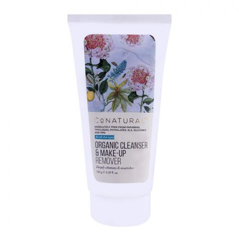 CoNatural Organic Cleanser & Make Up Remover, 150g