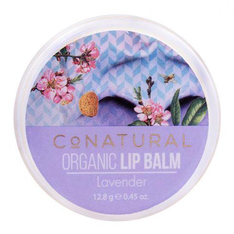 CoNatural Organic Lip Balm Lavender, 12.8g