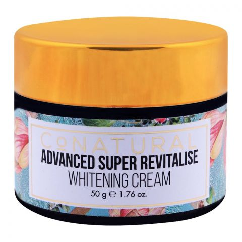 CoNatural Advanced Super Revitalise Whitening Cream, 50g