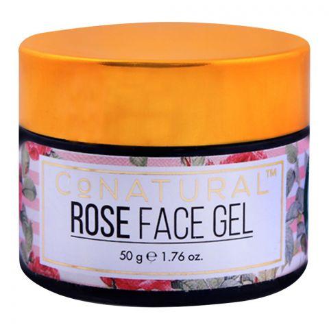 CoNatural Rose Face Gel, 50g