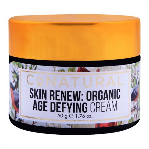 CoNatural Skin Renew Organic Age Defying Cream, 50g