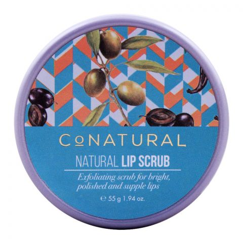 CoNatural Natural Lip Scrub, 55g