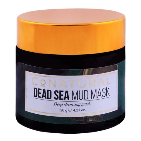 CoNatural Dead Sea Mud Mask, Deep Cleansing, 120g