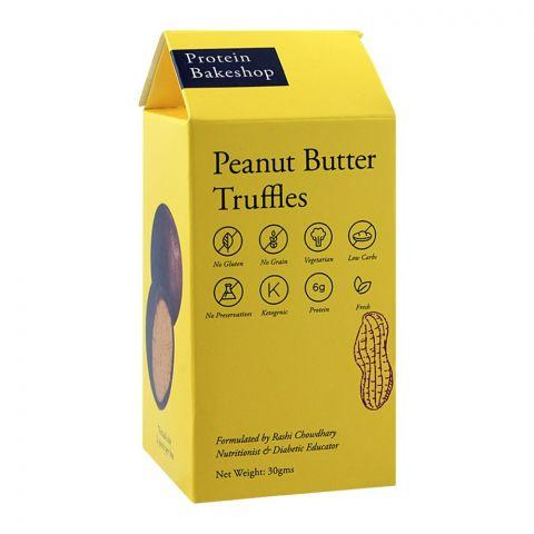 Protein Bakeshop Peanut Butter Truffles 30g, Gluten Free