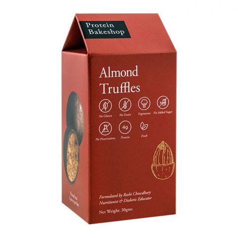 Protein Bakeshop Almond Truffles 30g, Gluten Free
