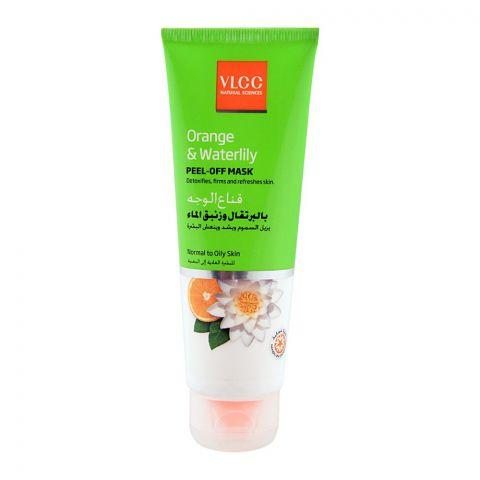 VLCC Orange & Waterlily Peel Off Mask, Normal to Oily Skin, 75ml