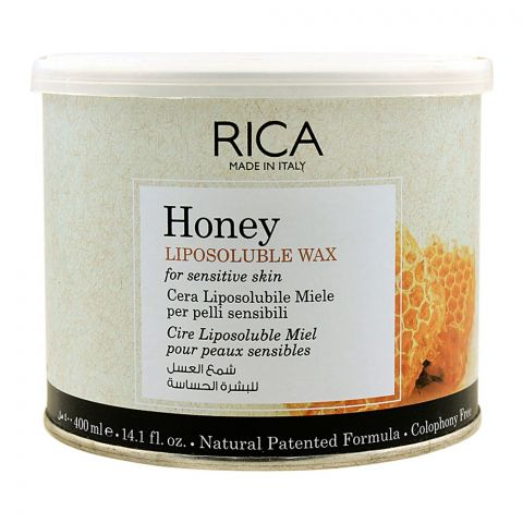 Rica Honey Liposoluble Wax, For Sensitive Skin, 400ml