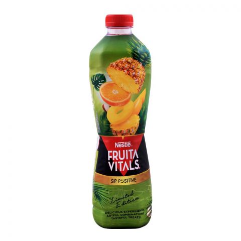 Nestle Fruita Vitals Tropical Punch Juice, 1 Liter