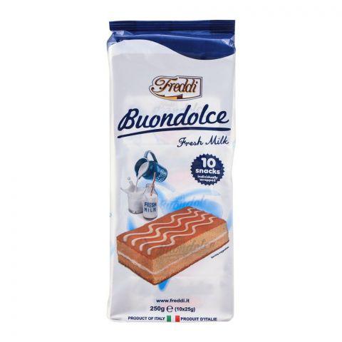 Freddi Buondolce Fresh Milk Mini Cake, 10-Pack, 250g