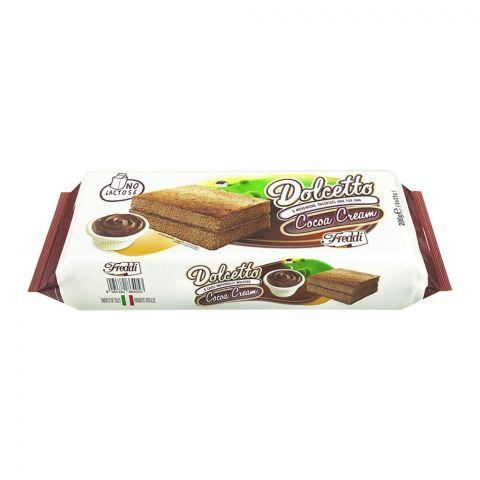 Freddi Dolcetto Cocoa Cream Mini Cake, 8-Pack, 200g
