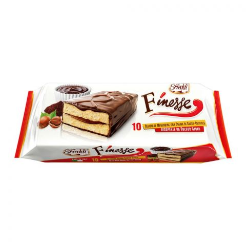 Freddi Finesse Hazelnut Cocoa Mini Cake, 10-Pack, 390g