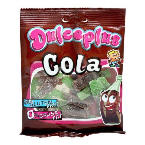 Dulceplus Cola Bottles Jelly, Gluten Free, Pouch, 100g