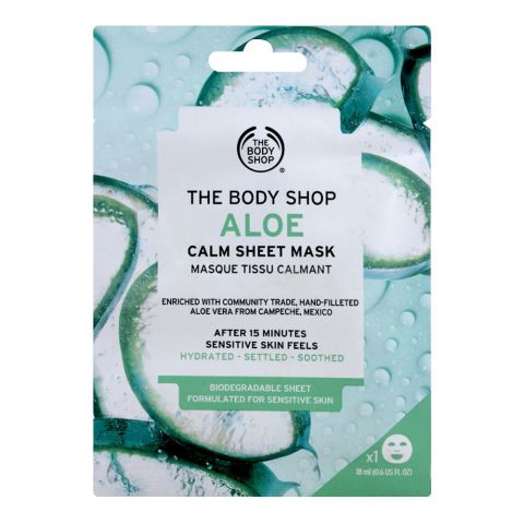 The Body Shop Aloe Calm Sheet Mask, 18ml