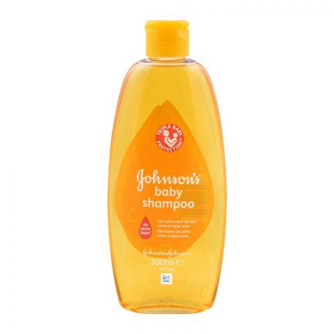 Johnson's Baby Shampoo Triple Protection, 300ml