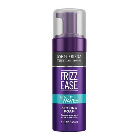 John Frieda Frizz-Ease Air-Dry Waves Hair Styling Foam 147ml