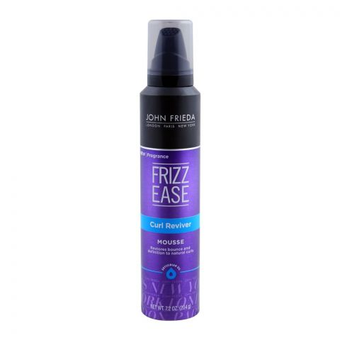 John Frieda Frizz Ease Curl Reviver Hair Mousse 204gm