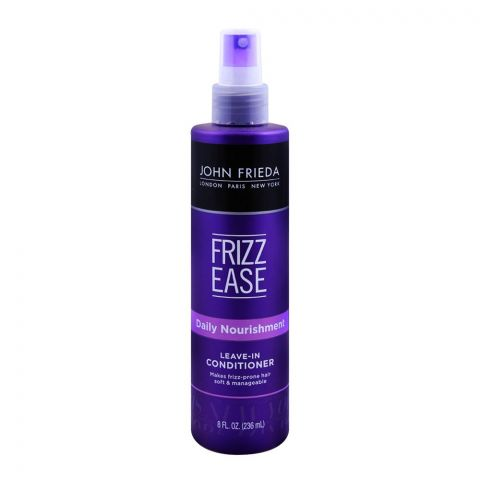 John Frieda Frizz-Ease Daily Nourishment Leave-In Conditioner 236ml
