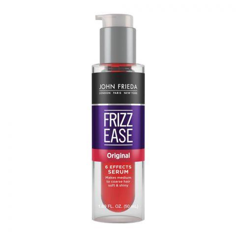 John Frieda Frizz-Ease Original 6 Effects Hair Serum 50ml