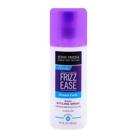 John Frieda Frizz-Ease Dream Curls Daily Hair Styling Spray 198gm