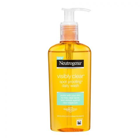 Neutrogena Visibly Clear Spot Proofing Daily Wash, 200ml